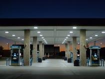 Valero bensinstationdetalj, Fort Smith, Arkansas Royaltyfri Foto