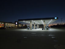 Valero gas station, Fort Smith, Arkansas Stock Images