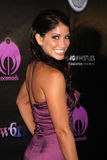 Valery Ortiz. LOS ANGELES - JUL 6:  Valery Ortiz arriving at the Dreamworld Benefit Concert for Falling Whistles at King King Club on July 6, 2011 in Los Angeles Stock Photos
