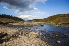 Vales bonitos River Valley Imagens de Stock