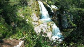 Valesinella Waterfalls in the Dolomites