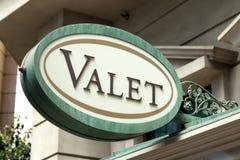 Valet Parking Sign Stock Photos