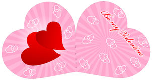 Valetine card stock photography
