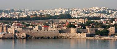 Valetta Grand Harbor, Malta. Ancient fortifications along the shore of Grand Harbor, Valetta, Malta Stock Images