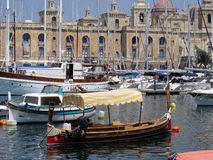 Valetta harbour, Malta Stock Photo
