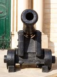 Valetta, Malta cannon in city Stock Photography