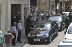 Valetta, Malta  – July 11: Herman Van Rompuy visits Malta Stock Photography