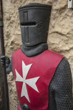 VALETTA/MALTA Medieval Suit of Armour Royalty Free Stock Image