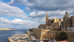 Valetta Malta stock photography