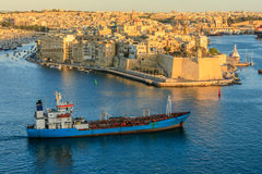 Valetta sunset in Malta Stock Photography