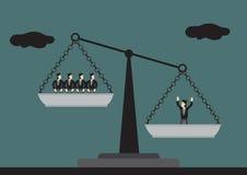 Valeur d'illustration conceptuelle de vecteur de ressource humaine illustration libre de droits