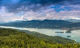 Valeur de lac Image libre de droits