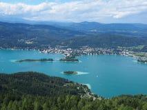 Valeur de lac en Autriche Images libres de droits
