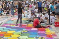 Valeur de lac, la Floride, Etats-Unis 23-24 ouvrier, 25ème Fest annuel de peinture de la rue 2019 photographie stock libre de droits