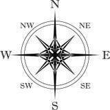 Valeurs intermédiaires cardinales de Points With Image stock