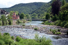 Valey at Bad Kreuznach Royalty Free Stock Images