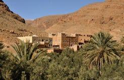 valey du Maroc de draa de casbah Image stock
