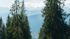 Valey Gasienicowa em montanhas de Tatra em Zakopane Fotos de Stock Royalty Free