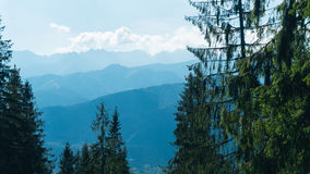 Valey Gasienicowa en montagnes de Tatra dans Zakopane Image stock