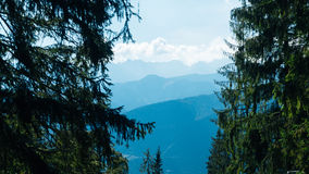 Valey Gasienicowa in Tatra mountains in Zakopane. Poland Royalty Free Stock Photos