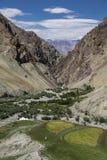Valey Himalaia fotografia de stock