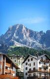 Valgardena Italien Arkivbilder