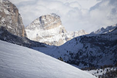 Valgardena winter Royalty Free Stock Photo