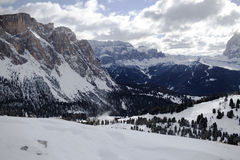 Valgardena winter Stock Images
