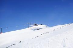 Valgardena zima Obraz Stock