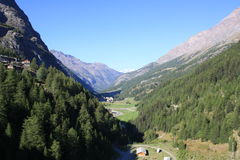 Valgrisenche Valley (Valle D'Aosta, Italy) Stock Image