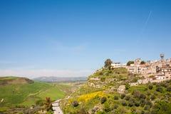 Valguarnera Caropepe, Sicily Stock Photo