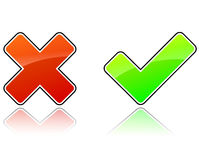 Validation icons Stock Images