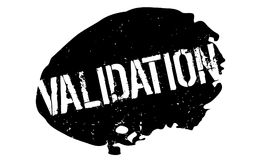 Validation rubber stamp Stock Photos