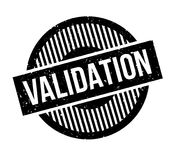 Validation rubber stamp Royalty Free Stock Image