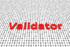 Validator Royalty Free Stock Images