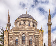 Valide Sultan mosque in Istanbul Royalty Free Stock Image
