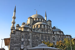 Valide Sultan Mosque. Most famous as Yeni Cami (Built 1597-1663 by Ottoman's Royalty Free Stock Photos