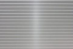 Valigia d'argento Fotografia Stock