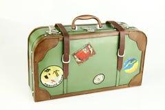 Valigia dell'annata fotografia stock