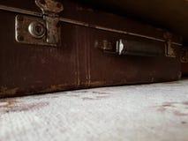 Valigia dell'annata Fotografie Stock Libere da Diritti