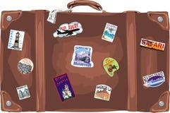 Valigia di corsa Fotografie Stock Libere da Diritti
