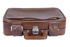 Valigia di cuoio Immagini Stock