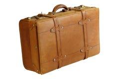 Valigia di cuoio Immagine Stock