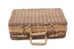 Valigia di legno Fotografia Stock