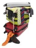 Valigia di viaggio Fotografia Stock