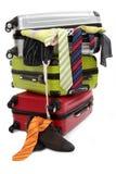 Valigia di viaggio Fotografie Stock