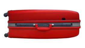 Valigia rossa Immagini Stock Libere da Diritti