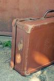 Valise antique Photographie stock libre de droits