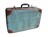 valise antique photographie stock
