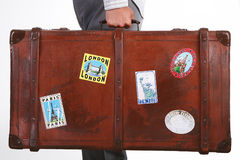 Valise de course photos stock